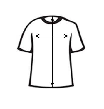 Size chart - man's T-shirts