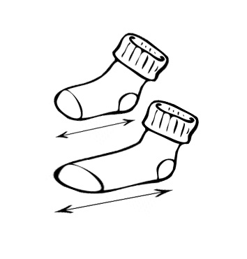 Size chart - socks