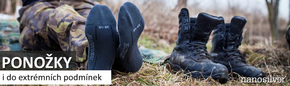 Termo ponožky se stříbrem