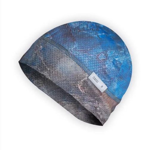 funkční čepice na běh i pod přilbu
