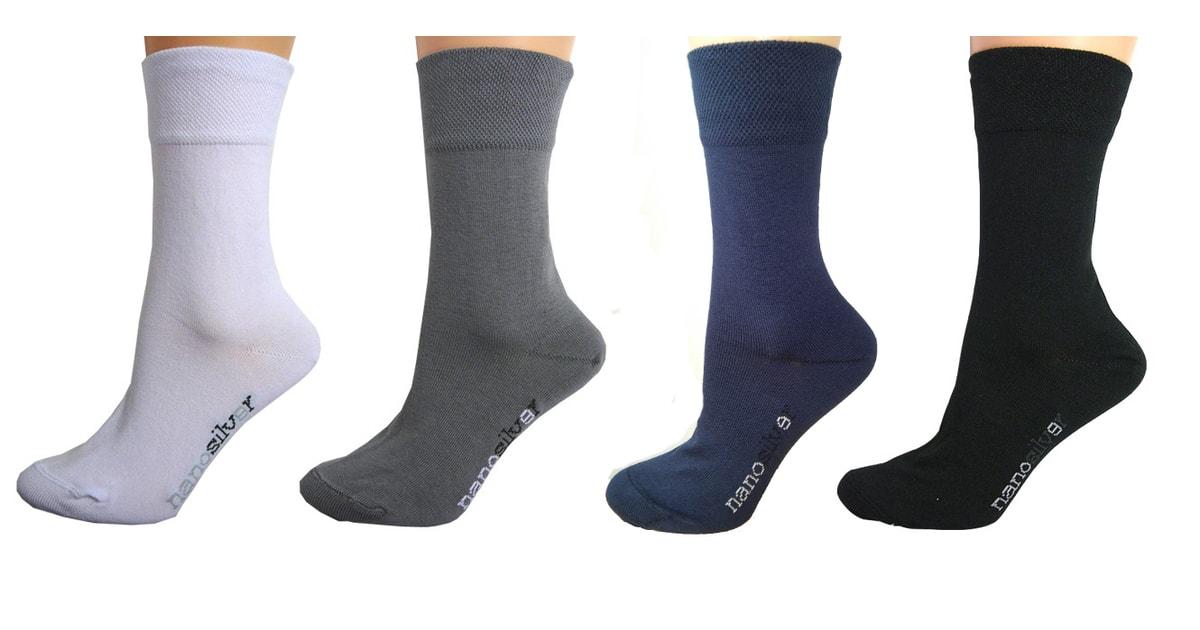 Společenské ponožky se stříbrem nanosilver 12ba133886