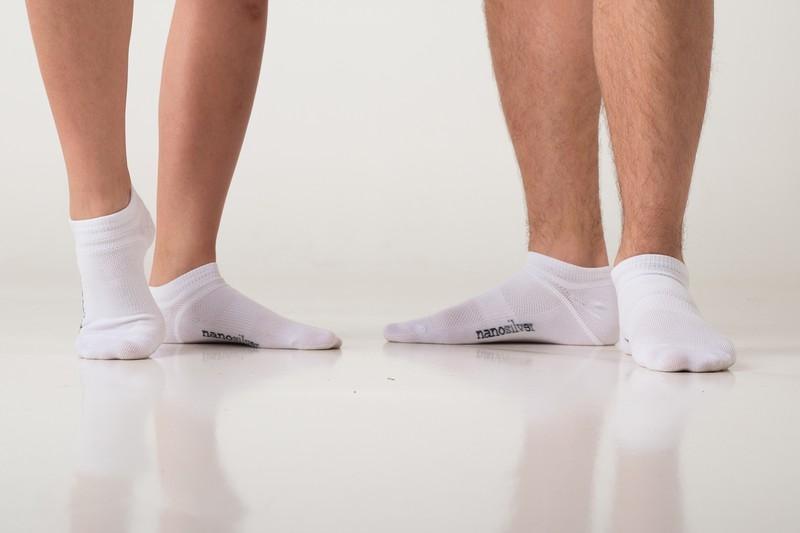 efae8839063 Kotníkové tenké ponožky nanosilver