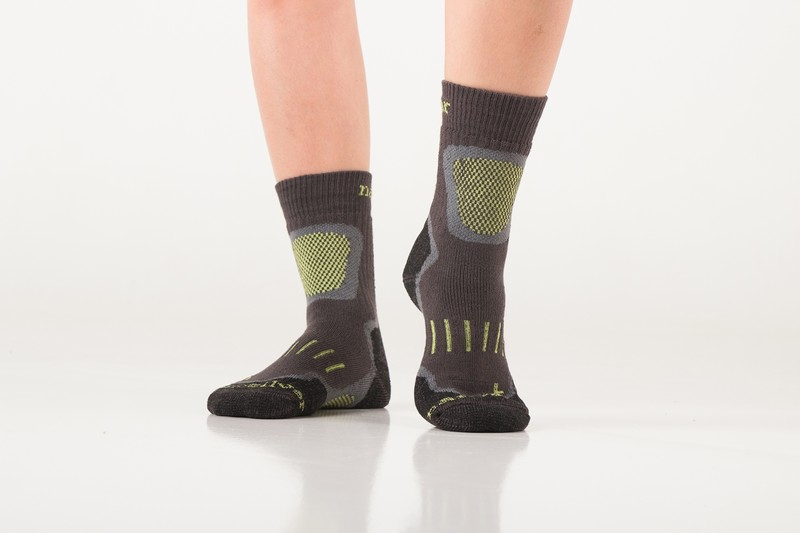 Ukázka trekingových ponožek v praxi. Se zesílenou šlapkou 11e39882d4