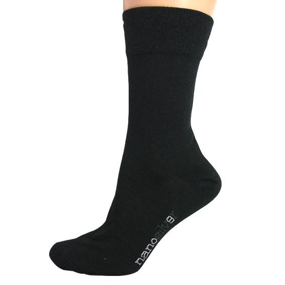 33283e3881d Společenské ponožky se stříbrem nanosilver