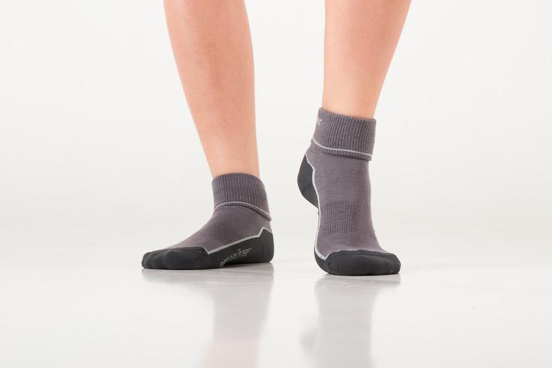 927981aeb90 Sportovní ohrnovací ponožky se stříbrem nanosilver