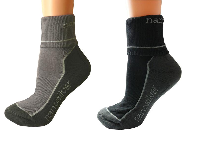 932ff03dd1c Sportovní army ohrnovací ponožky se stříbrem. Výrobce  nanosilver