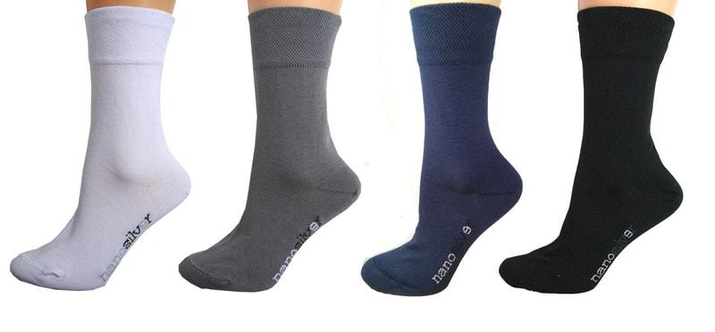 d5be38d9c00 Společenské ponožky se stříbrem nanosilver