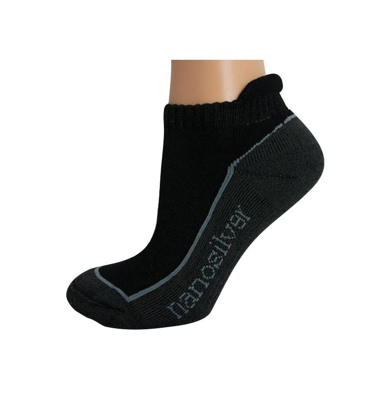 24cedb724e1 Kotníkové ponožky nanosilver