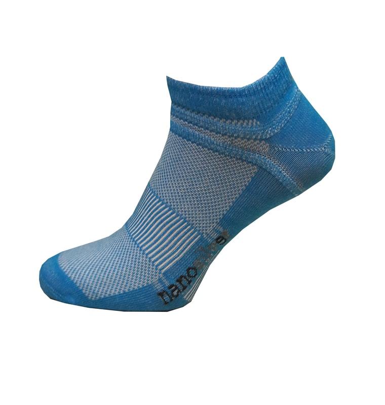 Kotníkové tenké ponožky nanosilver  08afd9f46a