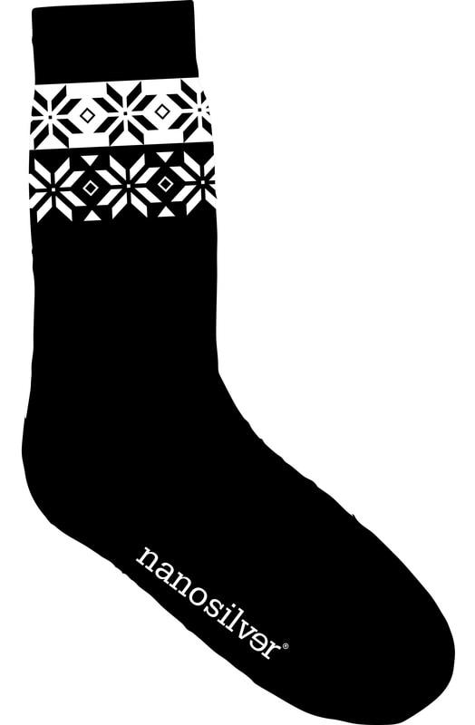 595de3a65a4 Ponožky NORDIC s merino vlnou. Výrobce  nanosilver