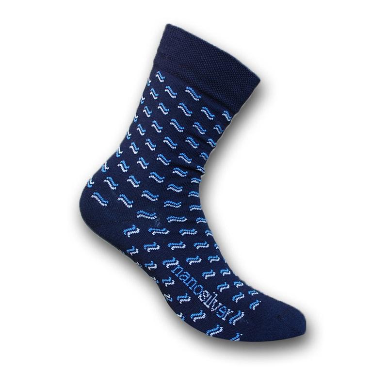2ba5ce2ef6a Společenské ponožky se vzorem
