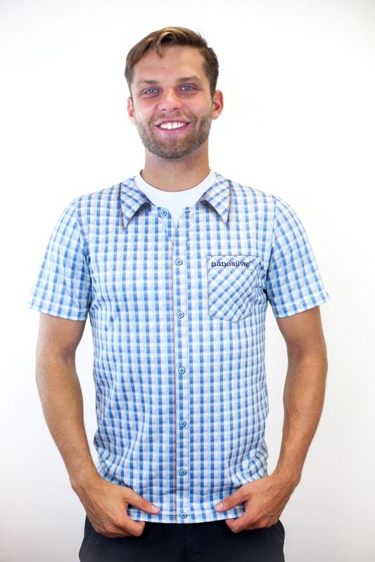 Funkční triko s potiskem košile  7b985c74e9