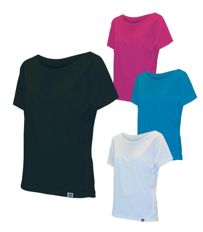 53cbc8e1288 dámské tričko nanosilver se spadlými rukávy volného střihu
