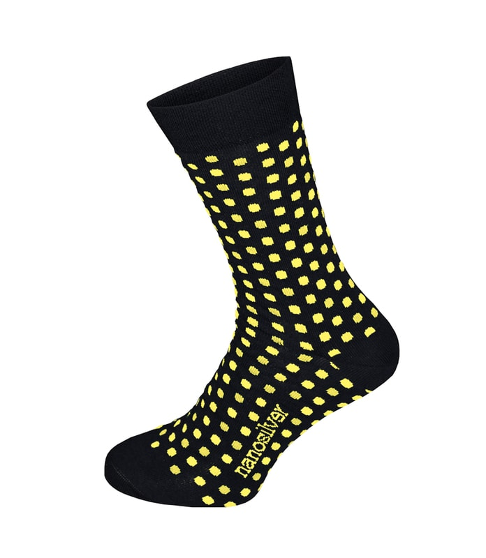 b1d9c9c6b7c Společenské ponožky s puntíky